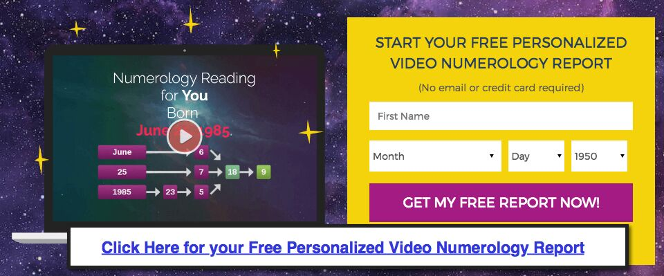 Free Personalized Numerology Report